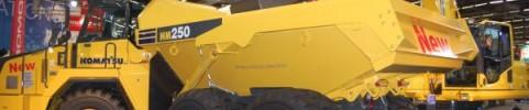 Formation sur camion hors route articulé