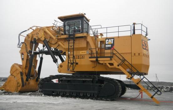 Pelle hydraulique minière