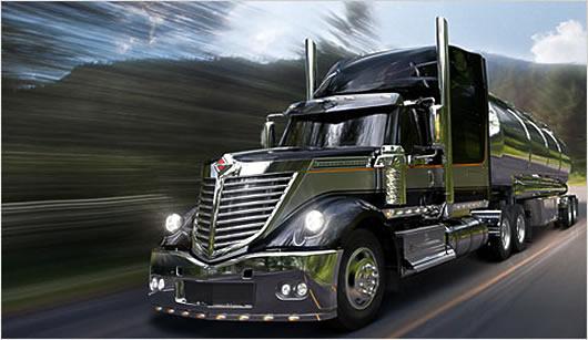 Camion semi-remorque - classe 1