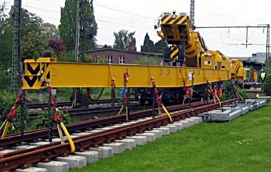Grue sur rails usg